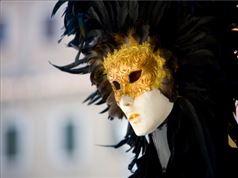 Mascara en  Venecia Florencia y Roma