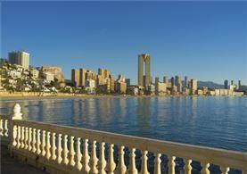Vistas de Benidorm Alicante