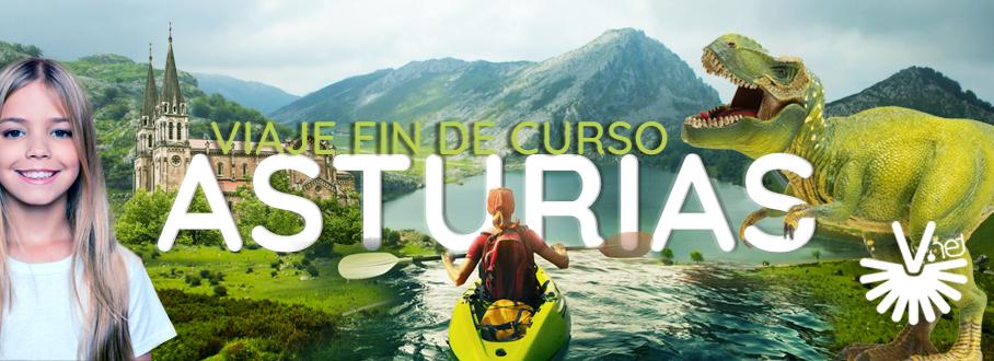 Viaje fin de Curso Colegios en Asturias