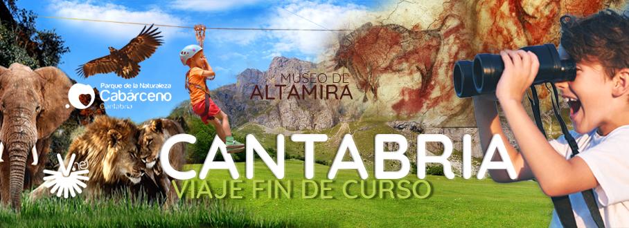 Fin de Curso para Colegios en Cantabria