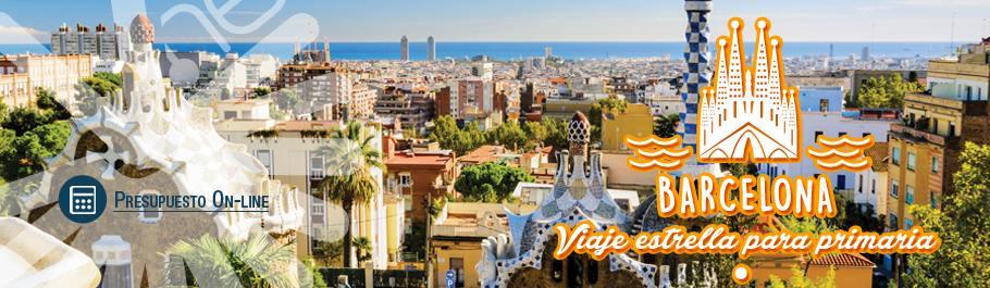 Viaje fin de Curso Colegios Barcelona