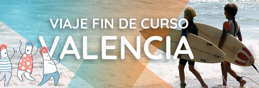 Fin de Curso para Colegios en Valencia